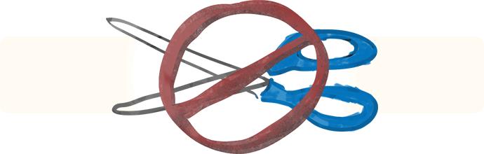 No Scissors