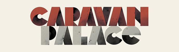 Caravan Palace Panic Logo