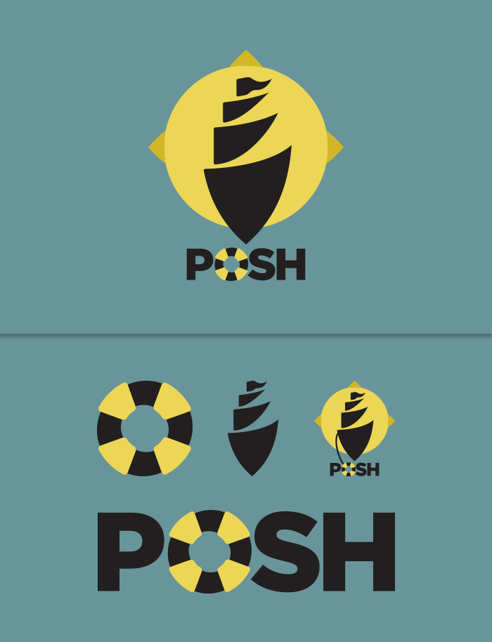 POSH logo display