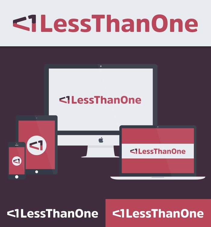 Less Than One Logo