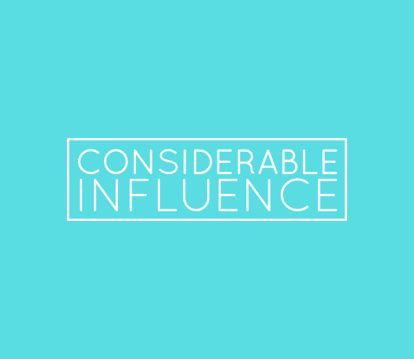 Considerable Influence